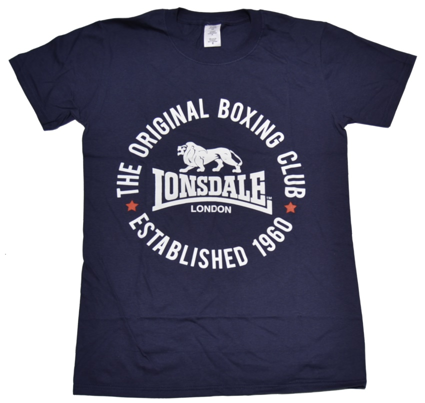 lonsdale london t shirt the original boxing club lonsdale t shirts details england casuals. Black Bedroom Furniture Sets. Home Design Ideas