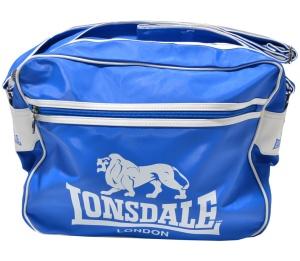 Lonsdale England Umhängetasche mit Logo blau weiss