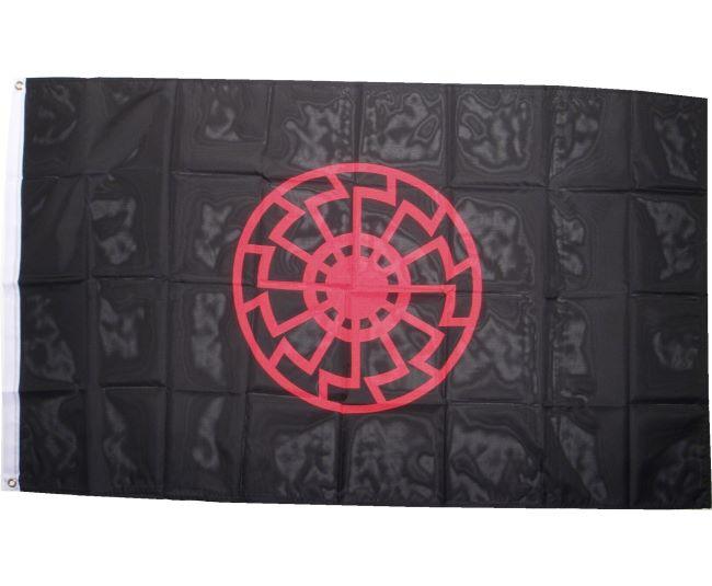 fahne schwarze sonne verschiedenes fahnen details ultras shop und versand fa34r www. Black Bedroom Furniture Sets. Home Design Ideas