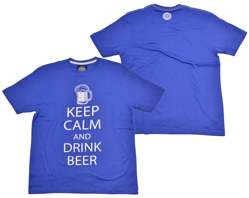 Obscene Clothing T-Shirt Keep Calm and drink beer