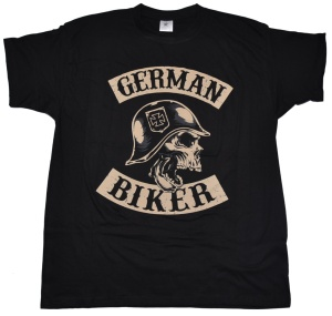 T-Shirt German Biker