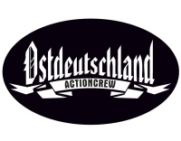 Aufkleber Ostdeutschland Actioncrew oval