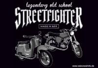 Aufkleber Streetfighter 10er Pack