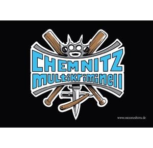Aufkleber Chemnitz Multikriminell