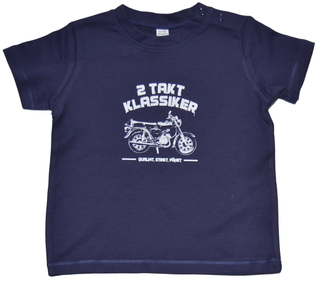 Baby T-Shirt 2 Takt Klassiker S51 K21