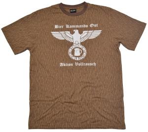 T-Shirt Bier Kommando Ost G306 NVA tarn