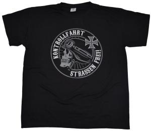 T-Shirt Strasse frei Kontrollfahrt G424