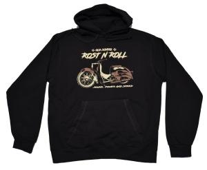 Schwalbe Motiv Kapuzensweatshirt Rost N Roll G414