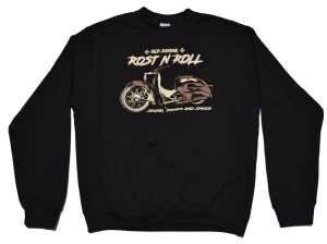 Schwalbe Motiv Sweatshirt Rost N Roll G414