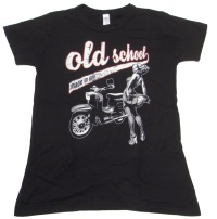 Damen T Shirt Old School made in GDR Simson Schwalbe G516