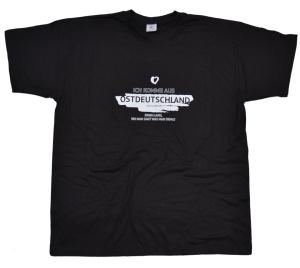 T-Shirt Ich komme aus Ostdeutschland G36