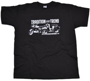 T-Shirt Simson Motiv Tradition statt Trend mit S51 und Schwalbe G45