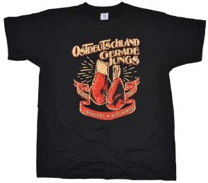 T-Shirt Ostdeutschland Gerade Jungs