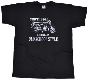 T-Shirt Legendary Old School Style S51 G517