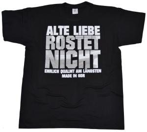 T-Shirt Alte Liebe Rostet nicht - Motiv G301