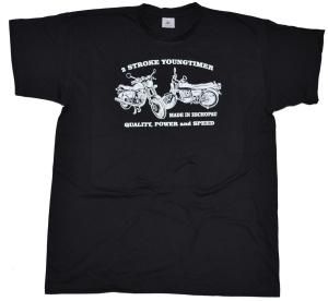 T-Shirt 2 Stroke Youngtimer II MZ ETZ G302 ohne GDR