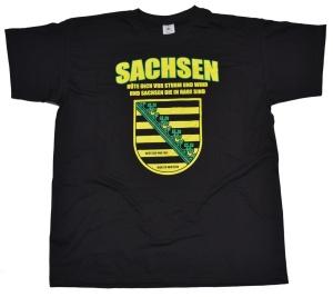 T-Shirt Sachsen deutsch und frei G309
