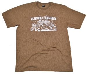 T-Shirt Ostblock-Schrauber II Simson Motiv NVA-tarn G70