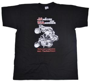 T-Shirt Motorräder aus Tschechien mit JAWA Motiv G319