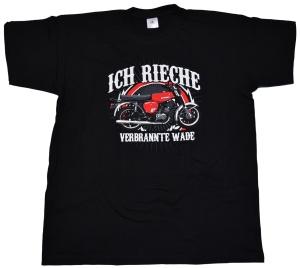 Simson Motiv T-Shirt Ich rieche Wade