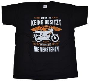 Simson Motiv T-Shirt Wenn du Keine besitzt G403U
