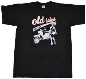 T-Shirt Old School made in GDR Simson Schwalbe G516