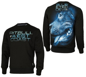 Pit Bull West Coast Sweatshirt Blue Eyed Devil X