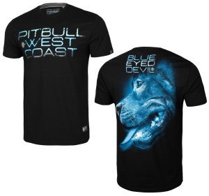 Pit Bull West Coast T-Shirt Blue Eyed Devil X