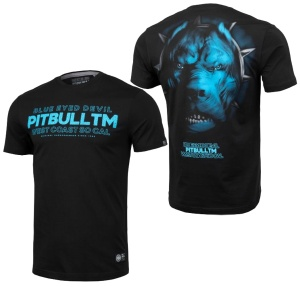 Pit Bull West Coast T-Shirt Blue Eeyed Devil V