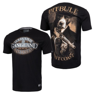 Pit Bull West Coast T-Shirt Tommy Black