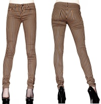Stretchjeans Steampunk