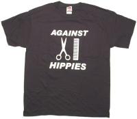 T-Shirt Against Hippies