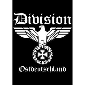Aufkleber Division Ostdeutschland