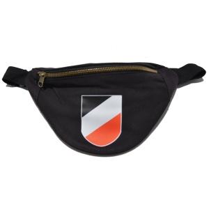 Bauchtasche Wappen schwarz-weiß-rot K52