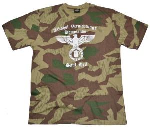 T-Shirt Alkohol Vernichtungs Kommando G305