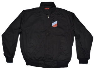 Harrington Style Jacke Wappen schwarz-weiß-rot deutsches Kaiserreich K52