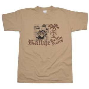 GSS German Schock Style T-Shirt Rallye Berlin Kairo