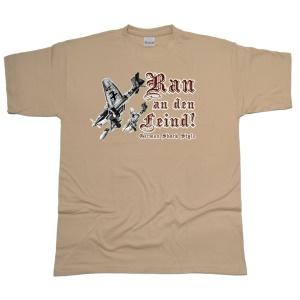 T-Shirt GSS German Schock Style Ran an den Feind! G58