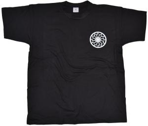 T-Shirt Schwarze Sonne II Druck vorn klein K2