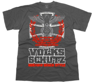 T-Shirt GSS German Schock Style Volksschutz G530