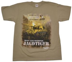 T-Shirt Oberleutnant Otto Carius Jagdtiger