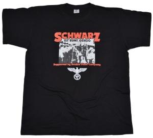 German Schock Style T-Shirt Schwarz ist bunt genug G57/K47