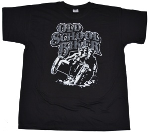 T-Shirt Old School Biker G316U