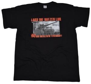 GSS T-Shirt Lass die Katzen los 88mm überlegene Feuerkraft G415