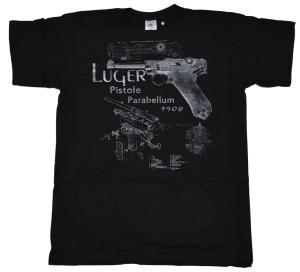 T-Shirt Luger P08 Motiv II