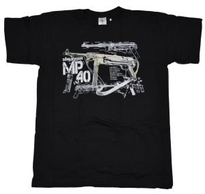 T-Shirt Schmeisser Maschinenpistole Motiv II