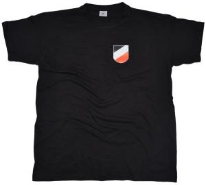 T-Shirt Wappen Kaiserreich schwarz weiß rot K52