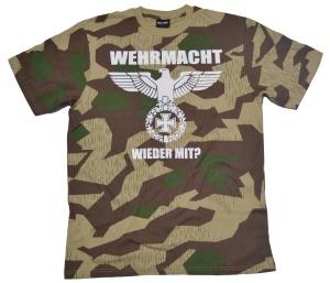 T-Shirt Wehrmacht wieder mit in camo G431