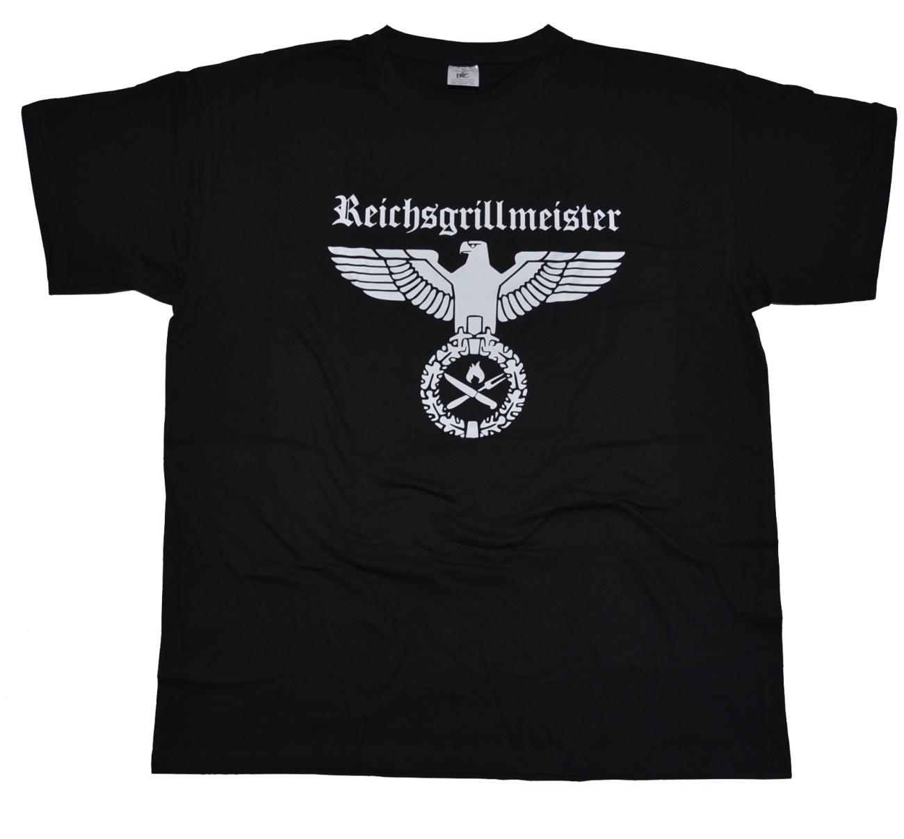 T Shirt Reichsgrillmeister II mit G428 RAC bei Thorshop