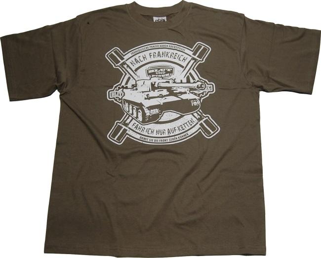 9d52c2341e66a T-Shirt Nach Frankreich nur auf Ketten G542U - RAC Shop - RAC83o